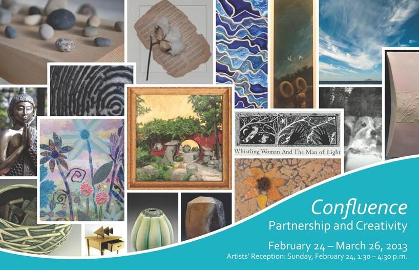 Confluence Show Postcard