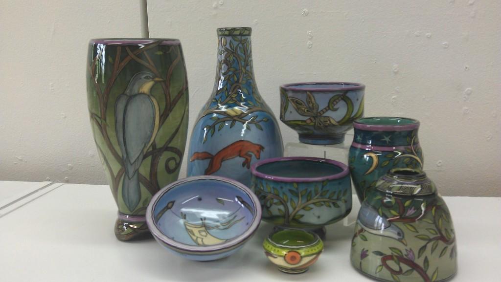 Terri Kern Spring Pottery Fair